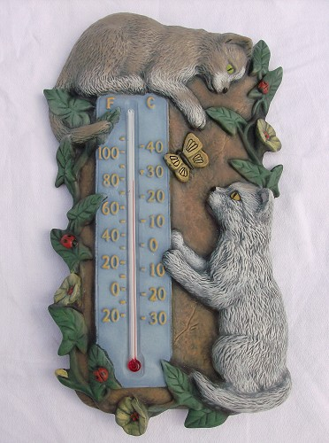 "Thermometer ""Katten"" incl. thermometerstaafje"