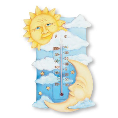 "Thermometer ""Zon/Maan"""