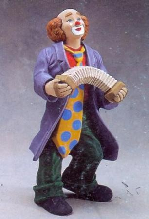 Clown met Harmonica