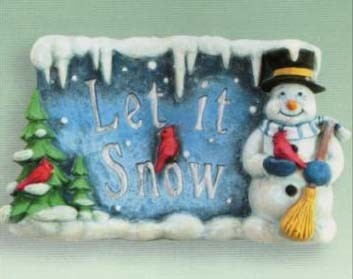 "Welkombord ""Let it Snow"""