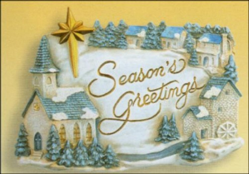 "Welkombord ""Seasons greetings"""